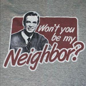 MR. ROGERS T-Shirt 2XL NWOT's